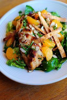 Panera-like Asian Sesame Chicken Salad