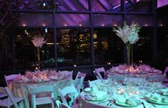 The Greenhouse is so versatile, that any event can transform easily from day to night.