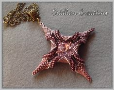"""Eridhan Creations - Beading Tutorials: Finally! Tutorial for the """"Polaris"""" pendant is fin..."""