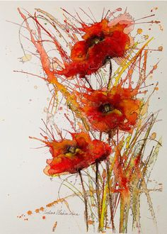 """""""Poppies"""" by Ivelina Vladimirova."""