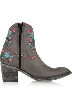 Mexicana embroidered boots
