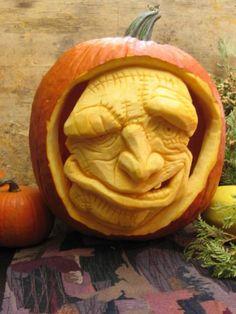 Amazing Pumpkin Carvings