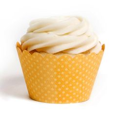 Lemon Cupcake Wrappers