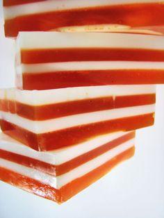 Dreamsicle Soap - Shea Butter Soap - Orange Soap - Glycerin Soap