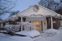 From the International Headquarters of the Petoskey Area Visitors Bureau - welcome winter!  #PetoskeyArea  http://www.PetoskeyArea.com