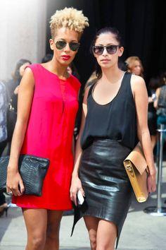 Designers Carly Cushnie and Michelle Ochs of Cushnie et Ochs.