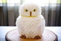 harry potter cakes, baby owls, 12th birthday, wedding cakes, groom cake, white owl, owl cakes, eat cake, parti