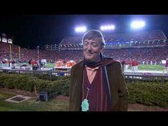 Stephen Fry in Jordan-Hare....he really gets it!!!
