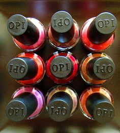OPI Polishes