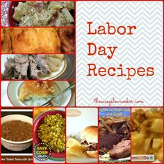 Great recipes to remember!