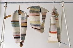 #stripes #scarf #knit