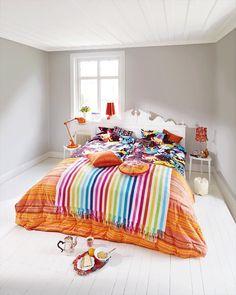 biała sypialnia