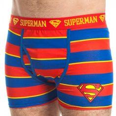 TOPSELLER! DC Comics Striped Boxer Briefs Underwear $13.99