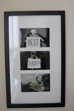 ad2b1c94658085c7a1a69a19e70a1d59.jpg 236×354 Pixel fathers diy crafts, father day gift, father's day gifts, mothers day, gift ideas, father days gifts, fathers day gifts, holiday kids crafts, picture frames