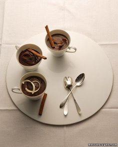Lighter Chocolate Cinnamon Pudding Recipe