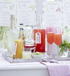 Erdbeer-Minz-Smoothie - Rezepte - [LIVING AT HOME]