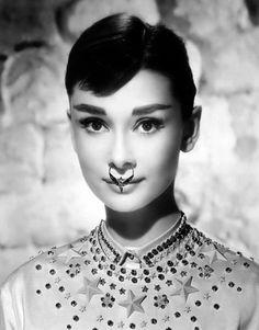 Audrey Hepburn meets Rooney Mara in Givenchy