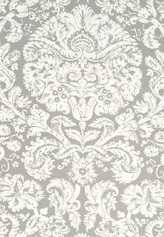 Barresa Damask Pearl Fabric SKU - 174133