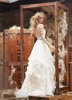 Bridal Gowns, Wedding Dresses by Hayley Paige - Style HP6450