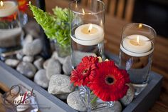 Incorporate Floating Candles into any seasonal look