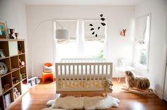 love this modern nursery featured on stephmodo.com