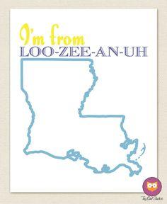 """""""I'm From Louisiana"""""""