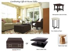 How to Coordinate Coffee and Accent Tables like a Designer