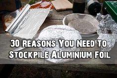 30 Reasons You Need To Stockpile Aluminium Foil - SHTF Preparedness http://www.exclusivepackagingny.com