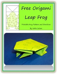Leap Frog Origami Pattern