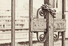lock, gate