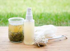 How To Make A Herbal Hair Detangler
