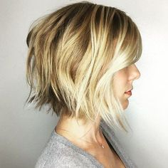Choppy+Balayage+Bob