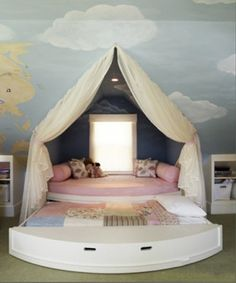 Cute trundle bed!