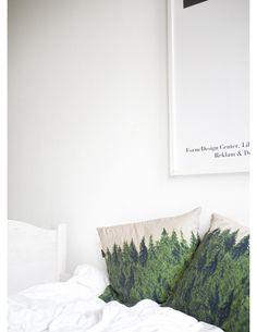 forest pillows