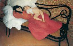 #Motherhood #1985  Ángel Larroque