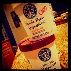 Addiction ! Starbucks Ice Cream