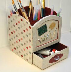 """Nouveau modèle de cartonnage """"Boîte de Peinture"""" avec tiroir"""