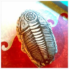 Trilobite Plushie! Geeky Cool Fossil stuffed Toy by TRILODEON, $15.00 #trilobite #art #pillow #geeky #fossil #gift