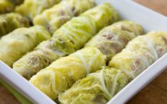 corned beef and cabbage rolls.