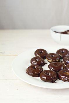chocolate donuts.