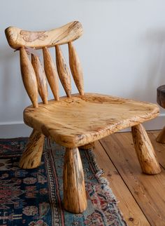 Spindle Back Chair by Phil Crennell