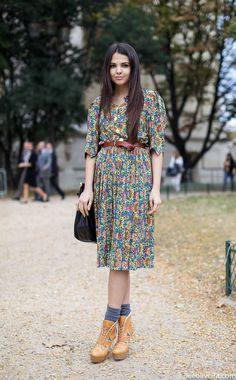 Streetstyle Paris #fashion
