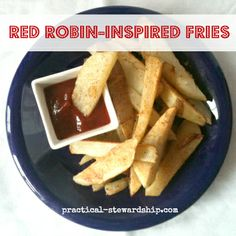 Red Robin Inspired Fries Crock-pot or Not robin inspir, crock pots, olive oils, food, red robin, crockpot recipes, slow cooker, crockpot creation, 4 ingredients