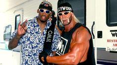 Hulk Hogan And Rodman From The Wcw Days