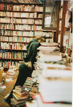 a good library will never be too neat, or too dusty, because someone will always be in it, taking books off the shelves and staying up late reading them