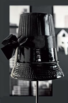 This DIY lampshade seems fairly easy to make.