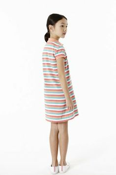 #Lacoste #Polo #dress for your little #Girl