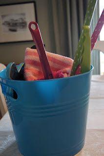 Montessori Practical Life Skills - Kids Cleaning Bucket