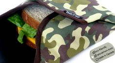 Keep Leaf Reusable Round Food and Sandwich Wraps
