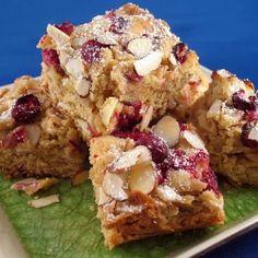 Raspberry White Chocolate Macadamia Blondies raspberri blondi, almonds ...